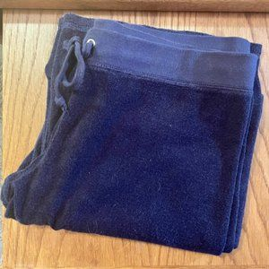 in EUC Juicy Couture Navy Blue Terry Sweatpants